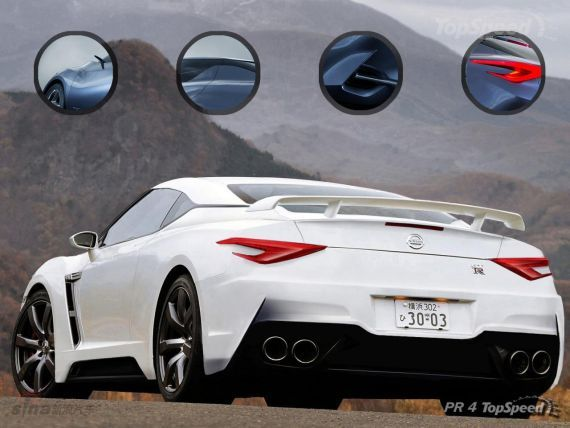 新一代日产GT-R假想图