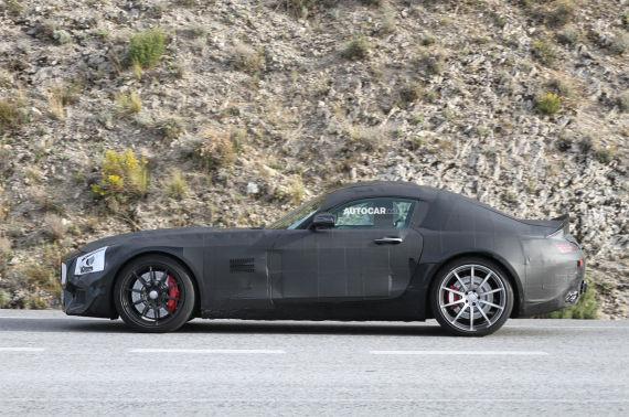 Mercedes-Benz GT AMG Spy 02