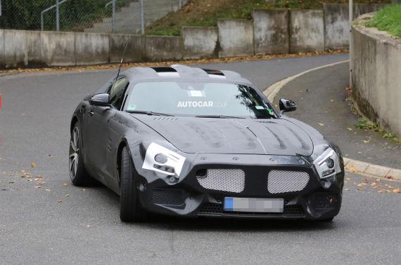 Mercedes-Benz GT AMG Spy 04