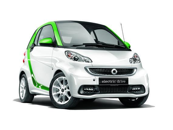 smart fortwo第三代电动车