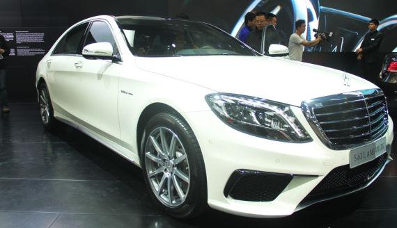 全新奔驰S63L AMG四驱版上市 售249.8万元
