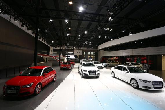 奥迪强大产品阵容亮相广州车展