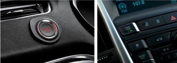 C4L一键启动按钮与英朗GT一键启动按钮