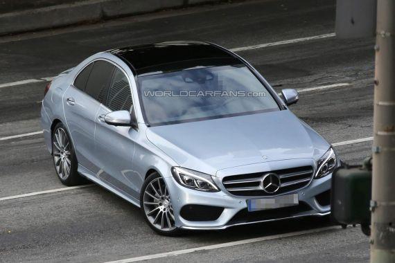 Mercedes-Benz C-Class Spy 01