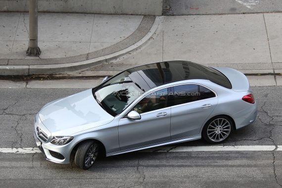 Mercedes-Benz C-Class Spy 04