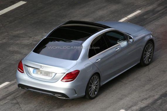 Mercedes-Benz C-Class Spy 09