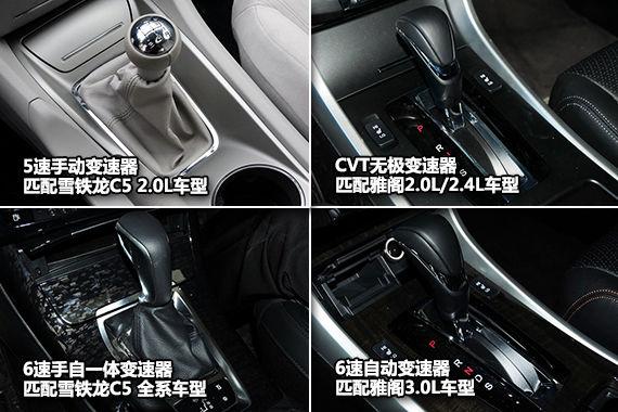 雪铁龙C5/本田雅阁变速箱