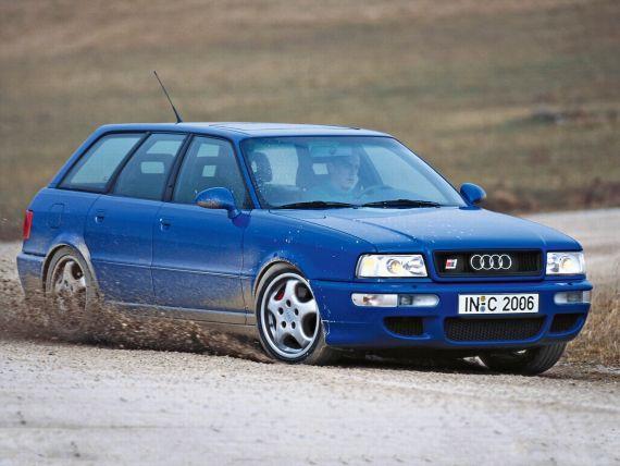1994年推出的首款RS车型―RS2