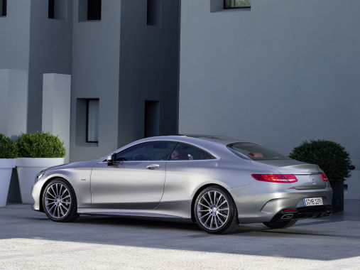 Mercedes-Benz S-Class Coupe 10