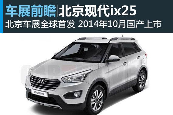 车展前瞻之北京现代ix25