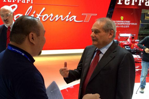 专访法拉利CEO费利萨