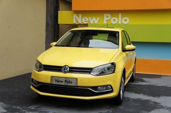 【新车】上海大众新款polo上市 售8.59万起