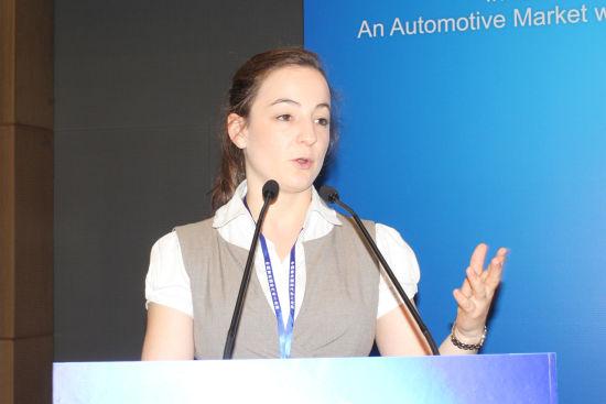 """德国专业汽车杂志""""GW―Trends""""主编Johanna Auguste Koch"""