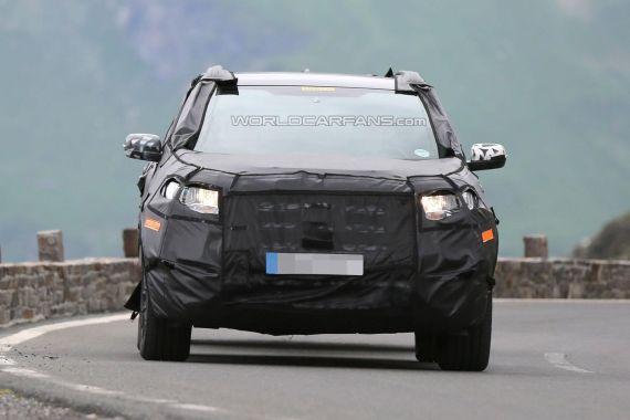 Ford Edge Spy 05