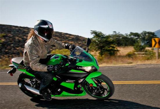 图解2013款小忍者 Kawasaki Ninja 300