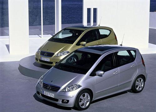 第二奔驰A级:2004年-2012年 正式进口到国内