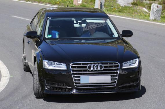 Audi A8 Spy 01