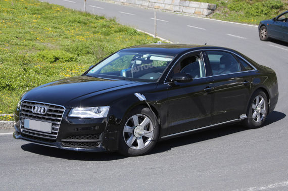 Audi A8 Spy 03