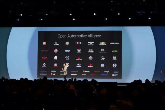 谷歌开放式汽车联盟(Open Automotive Alliance,OAA)