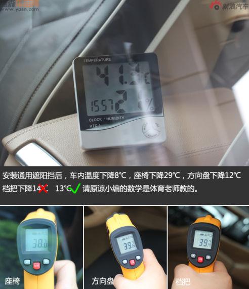测试后温度