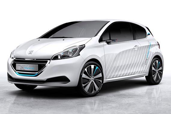 标致208 Hybrid Air概念车