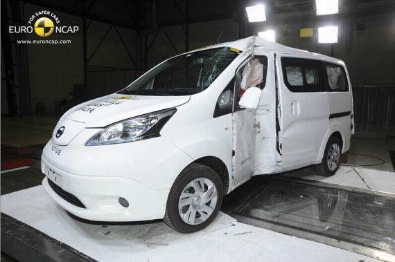 Nissan e-NV200 Evalia EuroNCAP 03