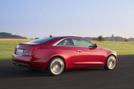 Cadillac ATS Coupe Euro-Spec 05