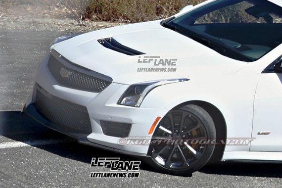 Cadillac ATS-V Coupe Spy 04