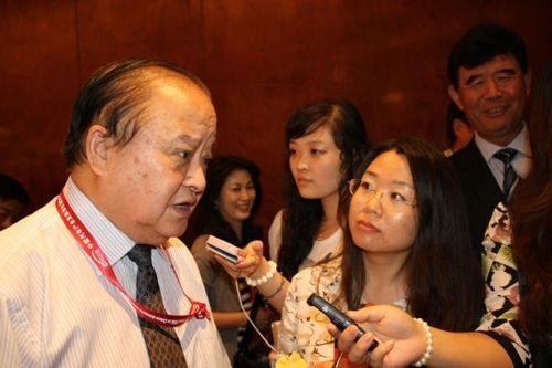 原中国机械工业联合会副会长、中国汽车工程学会名誉理事长张小虞接受新浪汽车采访