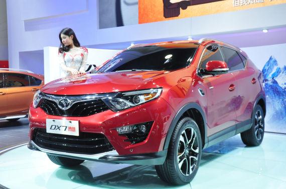 东南汽车DX7博朗-东南汽车首款SUV亮相广州车展 命名博朗