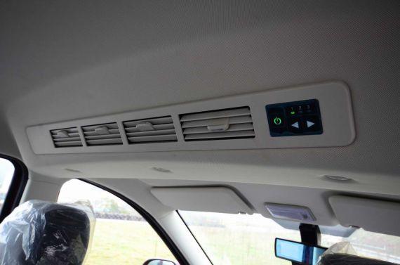 北汽幻速H2车顶空调出风口