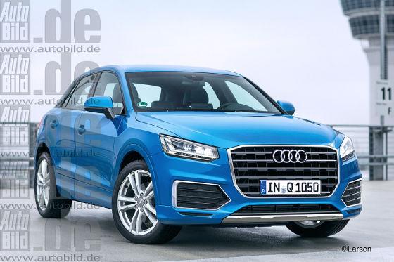 Audi Q1 假想图