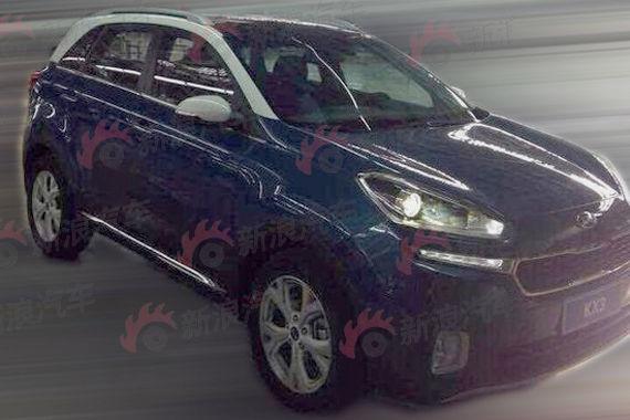 起亚KX3双色车身