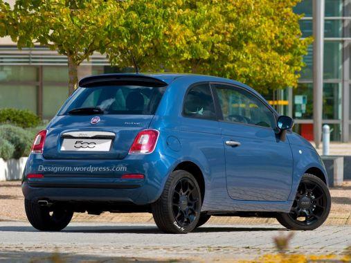 Fiat 500 Facelift Rendering 02