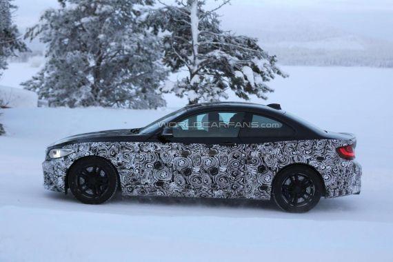 BMW M2 Coupe spy 03