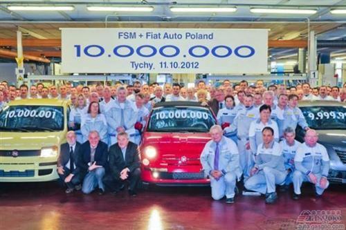 FCA波兰工厂拟投产菲亚特500 明年或产B级车