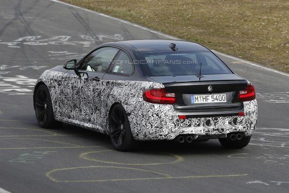 BMW M2 Coupe Spy 07