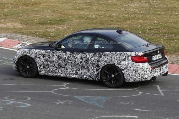 BMW M2 Coupe Spy 16