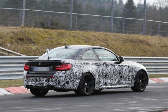 BMW M2 Coupe Spy 18