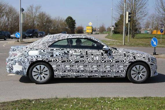 Mercedes C-Class Cabrio spy 04