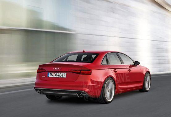 新一代奥迪a4将在法兰克福车展首发