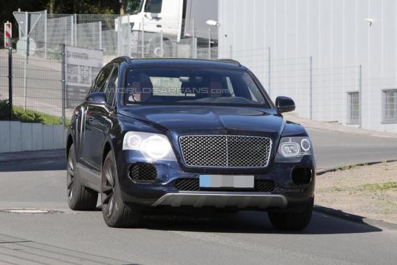 Bentley Bentayga spy 09