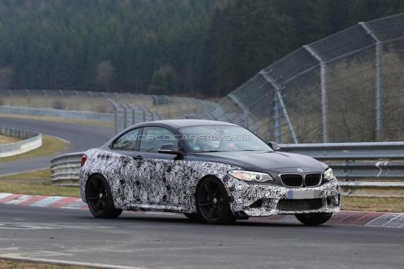 BMW M2 spy 02