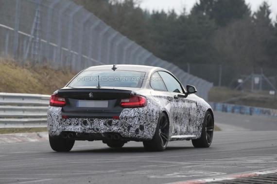 BMW M2 spy 04