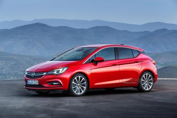 Opel Astra 09