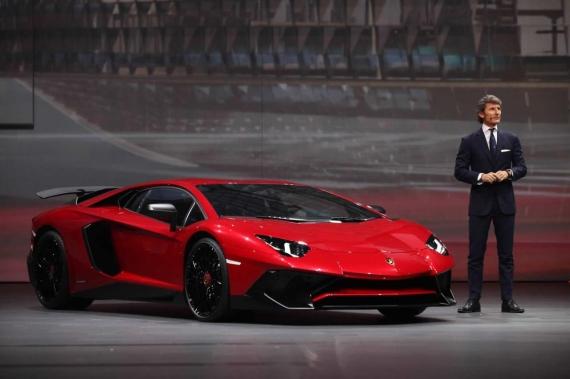 Lamborghini Aventador SV 05