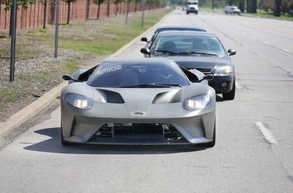 美国福特发布GT概念车