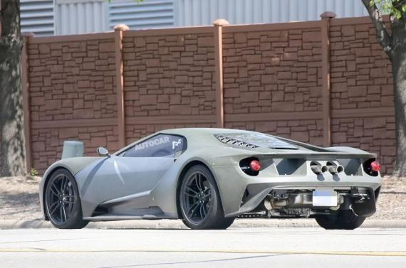 美国福特发布GT概念跑车