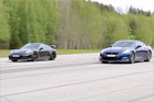 视频:GT-R直线赛道绝杀保时捷911 GT3
