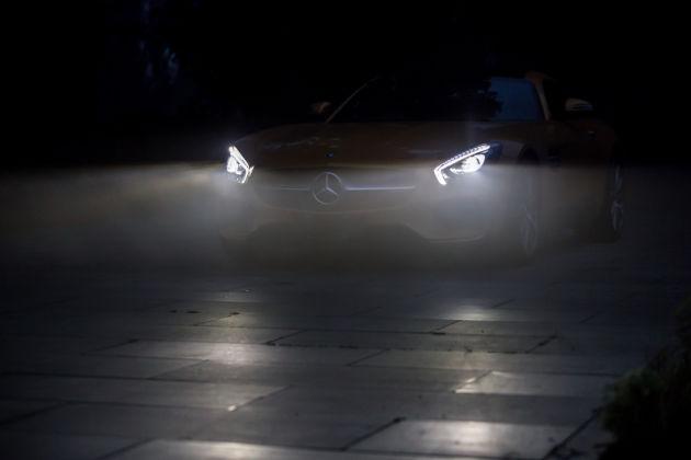 隐匿于暮光之中的夜行动物 试驾AMG GTS